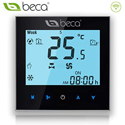 BECA WIFI Thermostat For Central Heating Four Pipe Heating/Cooling Fan Coil Central Air Conditioning