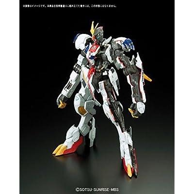 1/100 Full Mechanics Mobile Suit Gundam Iron Blood Orphans Gundam Barbatos Lupus Rex 1/100 Scale Color-coded Model Kit: Toys & Games