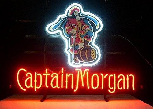 Captain Morgan Neon Beer Sign Bar Light 19x15