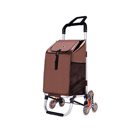 AAFEO-Trolley Carrito de Compras portátil Plegable Carro de extracción pequeño (Color : A