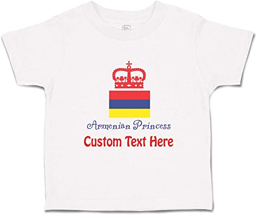 Armenian Alphabet Baby and Toddler T-Shirt