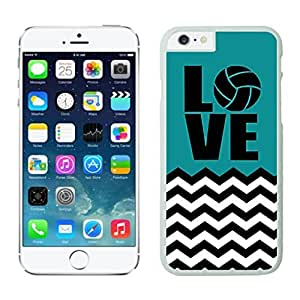 NEW DIY Unique Designed Case For iphone 6 plus Volleyball iphone 6 plus White 5.5 TPU inch Phone Case 430