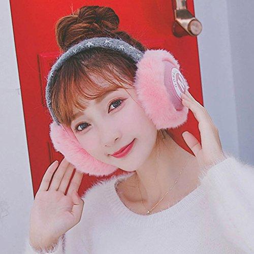 1411 para reales Ear Trend Warm Xyq Belle llenas Winter mujer Warm de Rose Orejeras oreja Blanket rrSq1Y