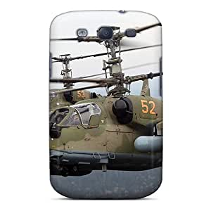 Galaxy S3 Case, Premium Protective Case With Awesome Look - Attack Helicopter