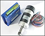 600W CNC Brushless DC Motor Driver + 400W Spindle Motor For Engraving Machine