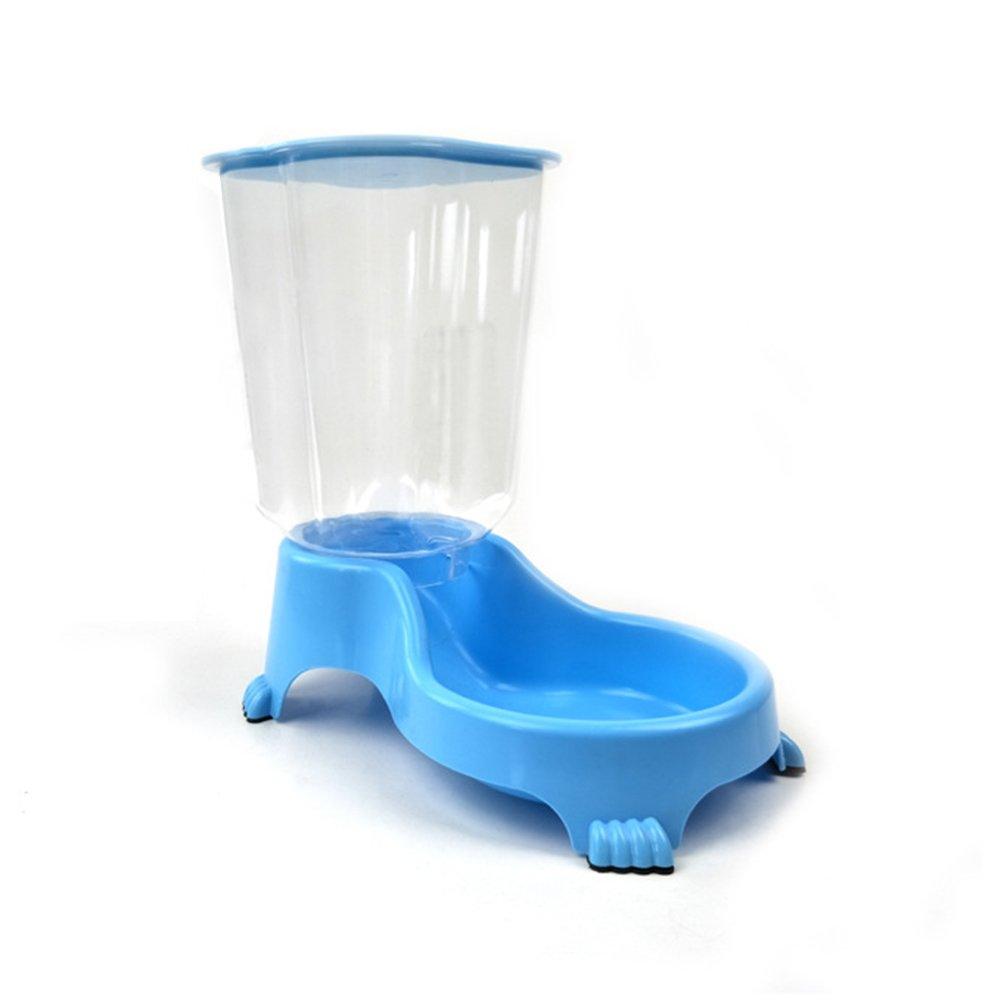 2L Alimentador de Mascotas Automático Comedero Automático para Perro Dispensador de Comidas Depósito de Plástico Transparente Fuente de Agua de Mascotas: ...