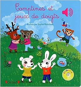 Book's Cover of Comptines et jeux de doigts (Français) Relié – 6 mars 2014