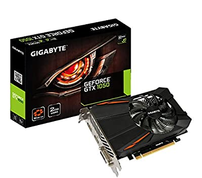 Gigabyte Geforce GTX 1050 Ti 4GB Windforce Graphic Card (GV-N105TWF2OC-4GD)