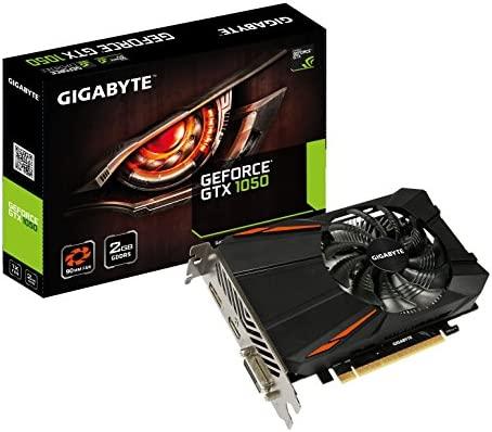 Gigabyte GeForce GTX 1050 D5 NVIDIA 2GB - Tarjeta gráfica (Activo, ATX, NVIDIA, GDDR5, PCI Express x16 3.0, 7680 x 4320 Pixeles)