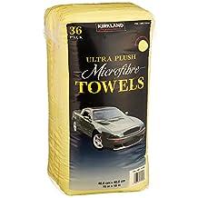 Kirkland Signature JNDpwn Ultra High Pile Premium Microfiber Towels, 36 Pack, 2 Units