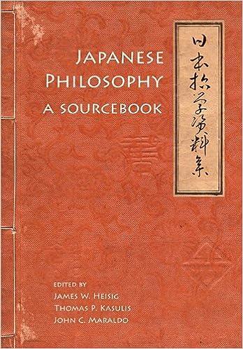 Book Japanese Philosophy A Sourcebook by James W. Heisig, Thomas P. Kasulis, John C. Maraldo [University of Hawaii Press,2011] (Paperback)