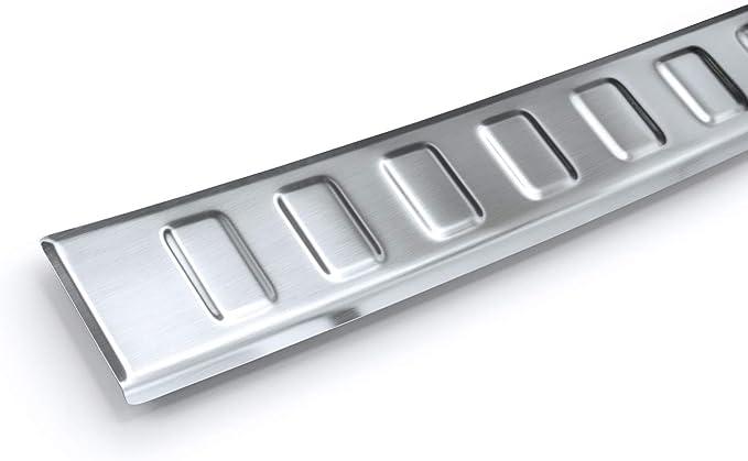 Tuning Art L371 Edelstahl Ladekantenschutz Für Toyota Rav4 5 Xa5 2019 5 Jahre Garantie Farbe Silber Auto