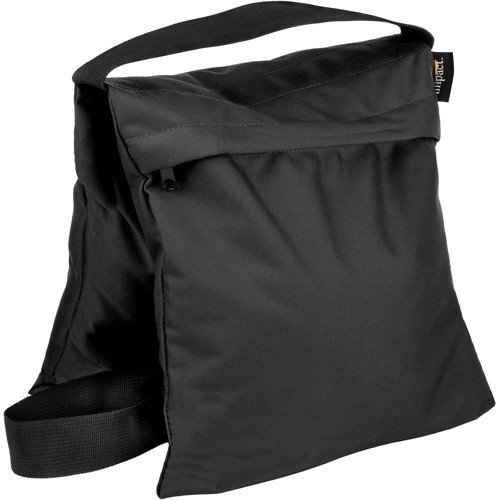 Impact Saddle Sandbag (25 lb, Black) by Impact