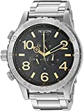 Nixon Men's '51-30 Chrono' Quartz Stainless Steel Casual Watch, Color:Silver-Toned (Model: A0832730)