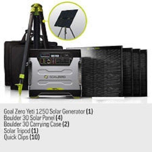 Goal Zero Yeti 1250 Solar Generator Kit With Cart 4