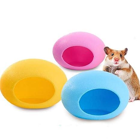 FEIDAjdzf - Cama de Dormir para Perro, plástico, tamaño pequeño, diseño de Huevo
