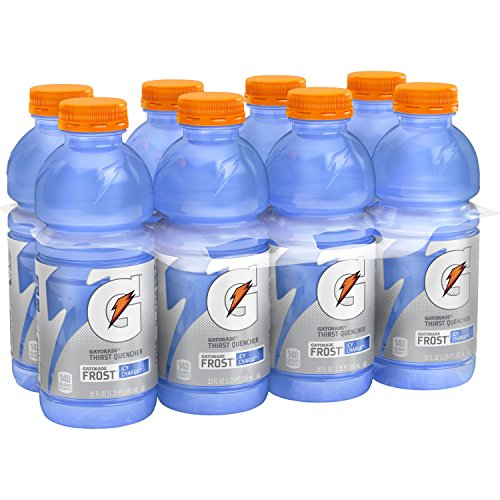 Gatorade Thirst Quencher, Frost Icy Charge, 20 Ounce,(Pack of 8)