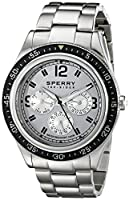 Sperry Top-Sider Men's 10015148 Bayside Analog Display Japanese Quartz Silver Watch from Sperry Top-Sider Watches MFG Code