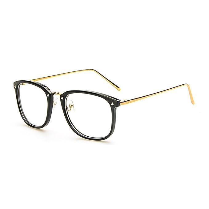 1f1d279d271 LOMOL Girls Retro Lovely Personality Student Style Transparent Lens Big  Frame Glasses(C1)
