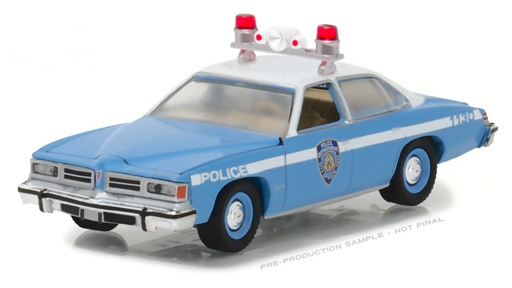 Greenlight 1/64 NYPD New York City Police 1976 Pontiac LeMans