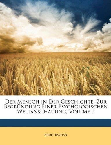Der Mensch in der Geschichte, Erster Band (German Edition) ebook