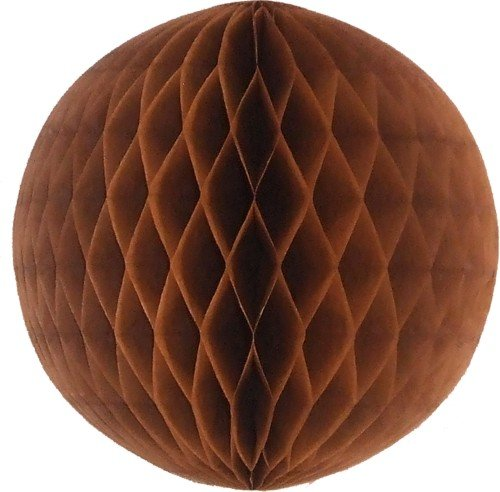 """5"""" Honeycomb Balls (Pack of 6) (Brown)"""