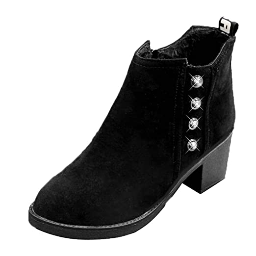 9aaaab7922fb0 Amazon.com: Hunzed Women Shoes Christmas British Style Retro Girl's ...