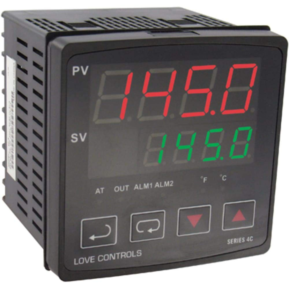 4C PID Temperature Controller; 96x96mm 1 RTD; Thermocouple Input; 1 Output Relay