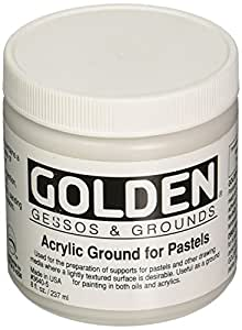 Golden Acrylic Ground for Pastel, 8 oz