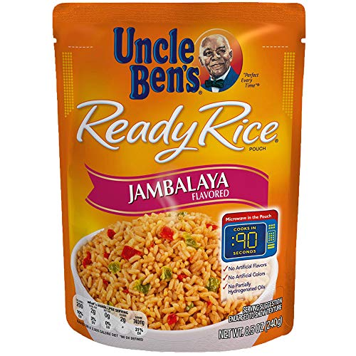 Uncle Ben's Ready Rice: Jambalaya Rice (6 Pack), Ready to Heat 8.5 oz Pouches