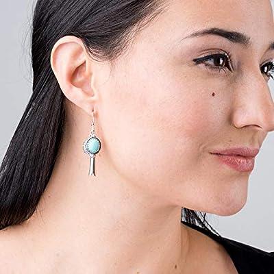 925 Silver & Gemstone Leaf Hoop Earrings Choices of 5 Colors