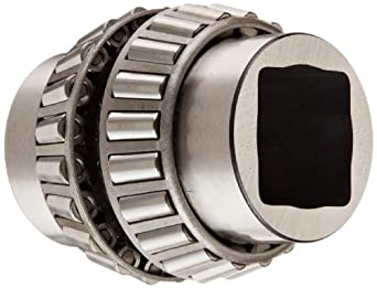 """Timken 13678SD Tapered Roller Bearing, Double Cone, Standard Tolerance, Straight Bore, Steel, Inch, 1.5570"""" ID, 2.8750"""" Width"""