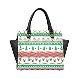 Christmas Tree Women's Rivet PU leather Shoulder Bag Handbag