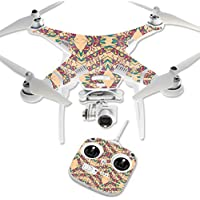 MightySkins Protective Vinyl Skin Decal for DJI Phantom 3 Standard Quadcopter Drone wrap cover sticker skins Grasshopper