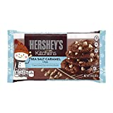 HERSHEY'S Kitchens Baking Chips, Sea Salt Caramel Chips, Gluten Free, 10 Ounce Bag (Pack of 12)