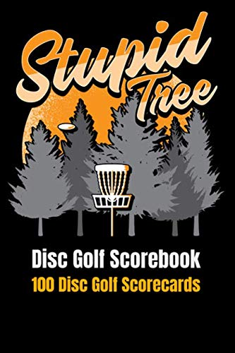 Disc Golf Scorebook: 100 Disc Golf Scorecards ()