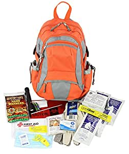 PhysiciansCare by First Aid Only Emergency Preparedness First Aid Backpack, Contains 63 Pieces