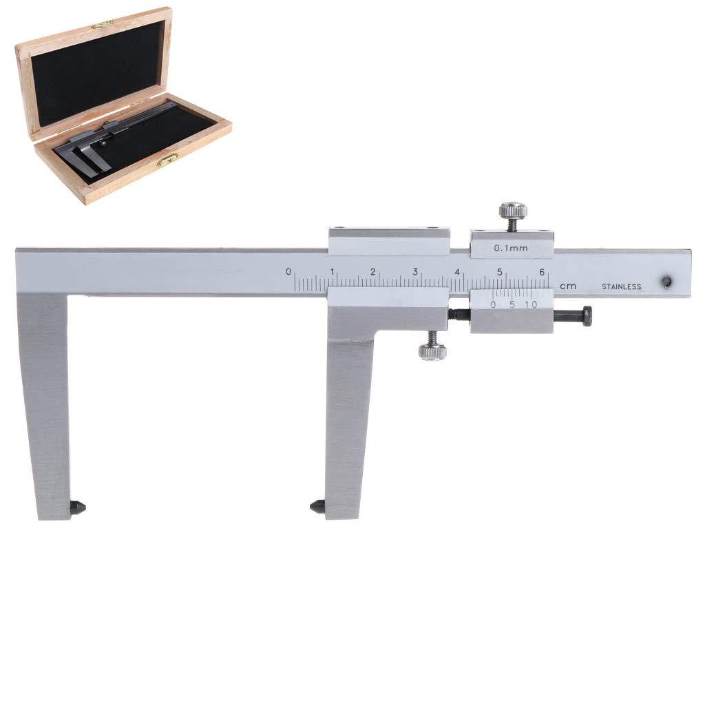 lunji calibre Vernier para medició n de los discos de freno (DIN 862 0 –  60 mm