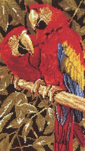 MCG Tropical Macaws Latch Hook Rug Kit