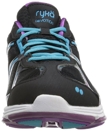 Sandali Light Dark Black donna Zeppa con Blue Ryka Purple PdHqwZPT