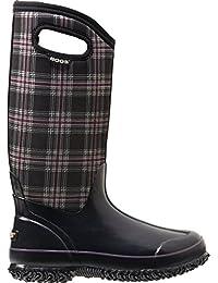 Bogs Women's Classic Tall Winter Plaid Waterproof Boot