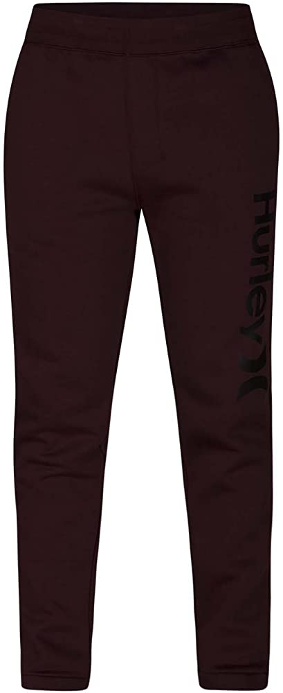 Hurley Mens One & Only Sweat Track Pants, Burgundy Crush, S ...