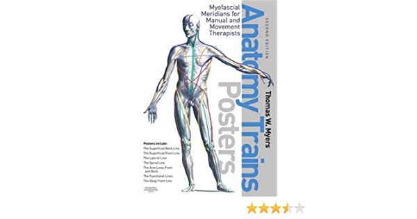 The Anatomy Trains Posters 2e 9780443102936 Medicine Health
