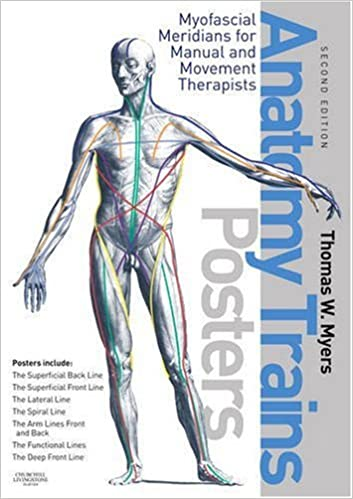 The Anatomy Trains Posters Thomas W Myers 9780443102936 Anatomy