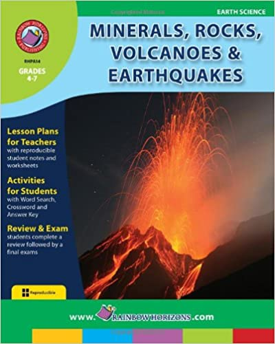 Amazon.com: Minerals, Rocks, Volcanoes and Earthquakes (Earth ...