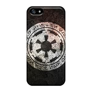 Hot Tpye Imperial Logo Case Cover For Iphone 5/5s