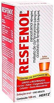 Resfenol sabor Laranja Solução Oral com 100 mL