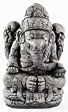Seated Ganesha Statue Home and Garden Statues Cement Hindu Elephant India Statuary For Sale