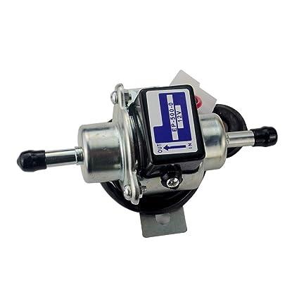 New 12V Electric Fuel Pump 035000-0460 68371-51210 for Kubota Yanmar Engine