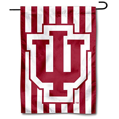 Indiana Hoosiers Candy Stripe Garden Flag and Yard ()